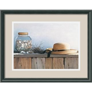 Daniel Pollera Still Life with Seashells Framed Print Art Today $89
