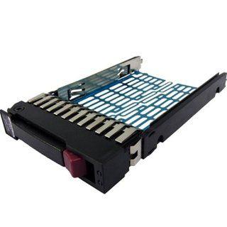 2.5 SATA/SAS Hard Drive HDD Tray/Caddy + screws for Hp