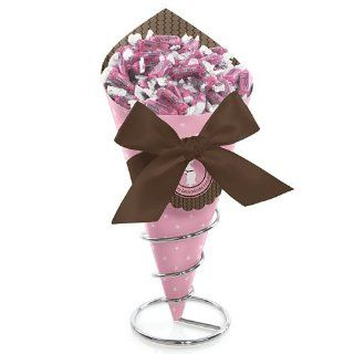 Mommy Silhouette Its A Girl   Baby Shower Candy Bouquet