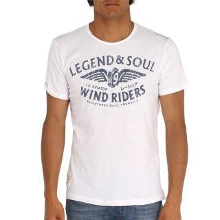 LEGEND&SOUL T Shirt Homme Blanc Blanc   Achat / Vente T SHIRT LEGEND