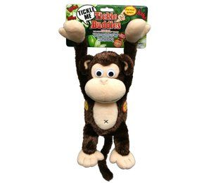 Laughing, Shaking Tickle Buddies Monkey Plush Toy Toys