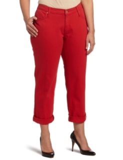 James Jeans Womens Plus Size Neo Beau Z Boyfriend Jean