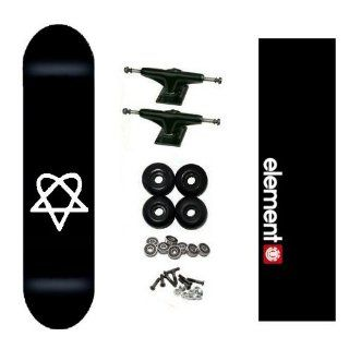 Bam Heartagram Pro HIM Skateboard Complete w/ Element Grip