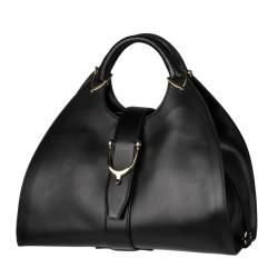 Gucci Medium Stirrup Leather Hobo Bag