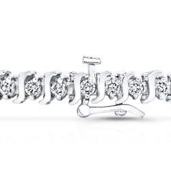 14k Gold 1ct TDW Diamond Tennis Bracelet (I J, I1 I2)