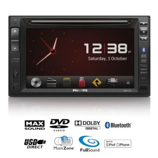 Philips CED1900BT Autoradio DVD 2 DIN Bluetooth   Achat / Vente