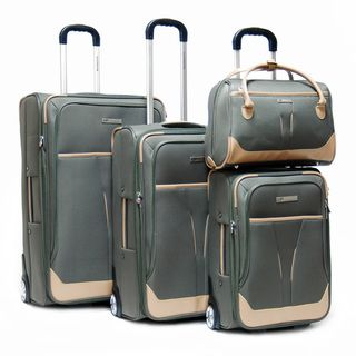CalPak Kensington 4 piece Luggage Set