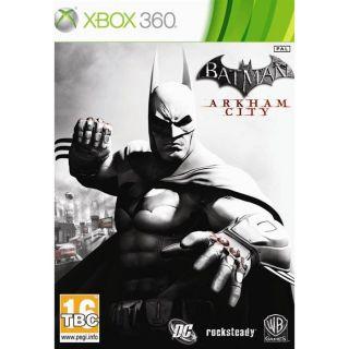 / Vente XBOX 360 BATMAN ARKHAM CITY / Jeu X360