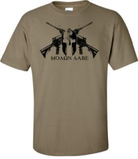 Coyote Helmet MOLON LABE T shirt: Clothing