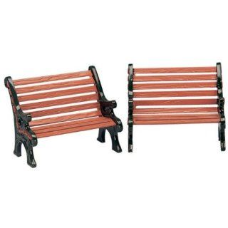 Lemax Village Collection Christmas Village Accessory   Park Benches