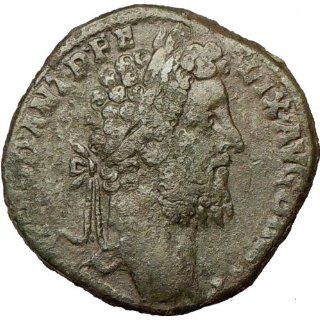COMMODUS 190AD Sestertius Rare Ancient Roman Coin Nude