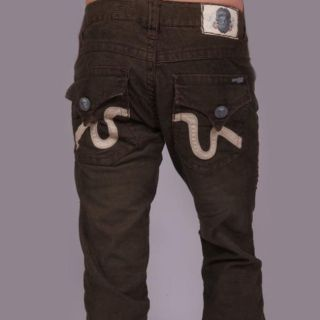 Laguna Beach Jean Company Mens Olive Corduroy Pants