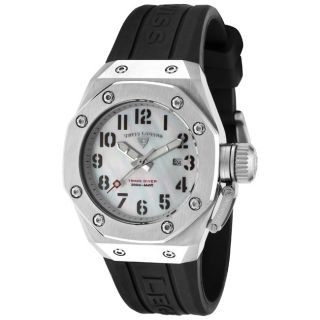 Swiss Legend Womens Trimix Diver Black Silicone Watch