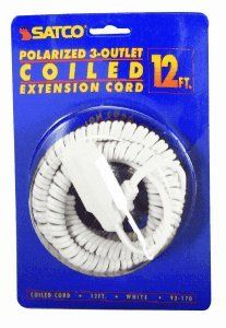 12 COILED EXTENSION CORD RED model number 93 174 SAT