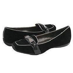 Via Spiga Warner Black Suede Loafers