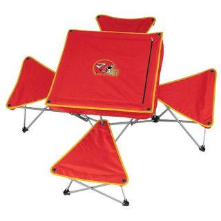Kansas City Chiefs Folding Table and Stool Set