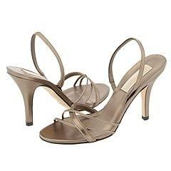 Michael Kors Calista Gunmetal Metallic Nappa Sandals   Size 8