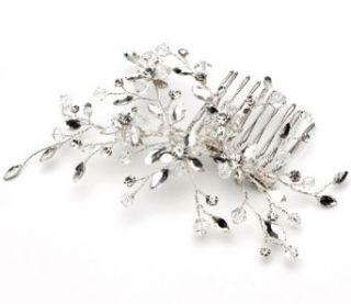 Wedding Side Comb with Rhinestone & Crystal 175 Clothing