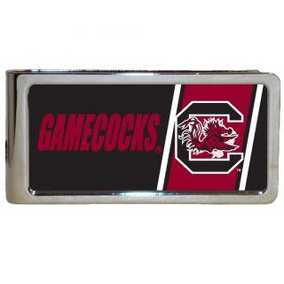 Simran South Carolina Gamecocks Stainless Steel Money Clip