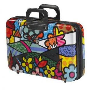 Heys USA Luggage Britto Landscape Flowers Esleeve, 12 Inch
