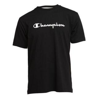CHAMPION T Shirt Homme Noir   Achat / Vente T SHIRT CHAMPION Tee Shirt