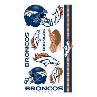 Denver Broncos NFL Football Team Temporary Tattoos Sports