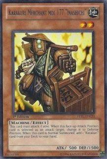 Yu Gi Oh!   Karakuri Merchant mdl 177 Inashichi (STBL