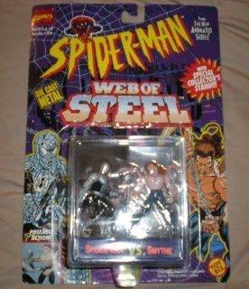 Spiderman The New Animated Series Web of Steel Spider Man