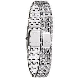 Wittnauer Womens Crystal Stainless Steel Watch