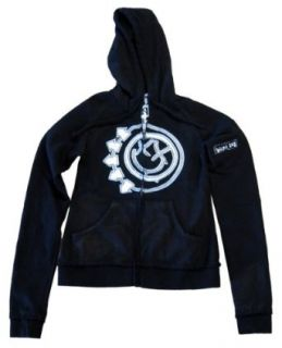 Blink 182 Girls High End Jr Fleece Junior Zip Hoodie, X