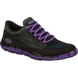 Womens Skechers GObionic Black/Purple