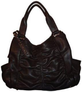 Womens B Makowsky Purse Handbag Lafayette Tote Brandy