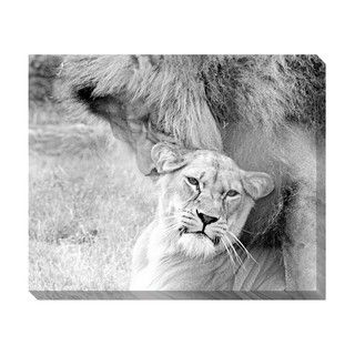 Partners Oversized Gallery Wrapped Canvas