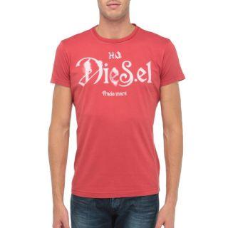 DIESEL T Shirt Ninao Homme Rouge   Achat / Vente T SHIRT DIESEL T