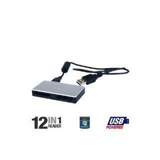12 in 1 USB 2.0 Flash Memory Card Reader MRW62E/T1/181 Electronics