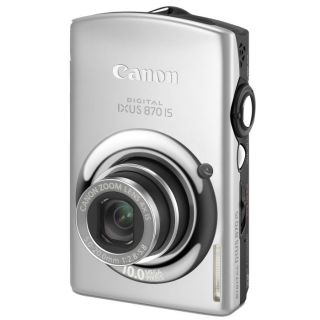 CANON Digital Ixus 870 IS Silver   Achat / Vente COMPACT CANON Digital