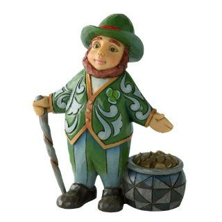 Enesco Jim Shore Heartwood Creek Mini Leprechaun Figurine