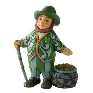 Enesco Jim Shore Heartwood Creek Mini Leprechaun Figurine