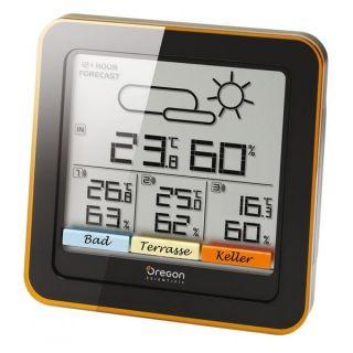 OREGON RAR501 Station météo climat control   Mesurez la température
