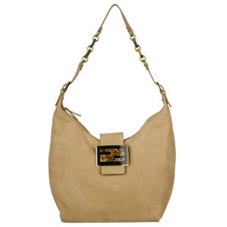 Fendi 8BR643 00FB7 F0QFN Forever Suede Leather Hobo Bag
