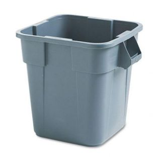 Rubbermaid Grey 28 gallon Commercial Brute Square Container