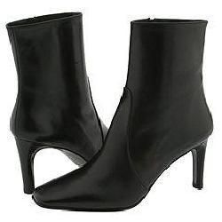 Lumiani Stephanie Black Nappa Boots