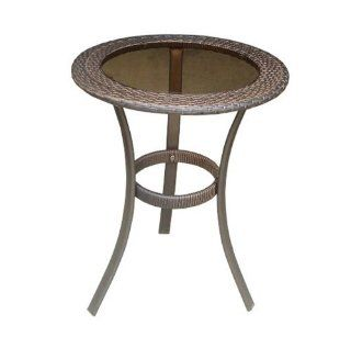 DC America SSR183 FT, Soho All Weather Wicker Table