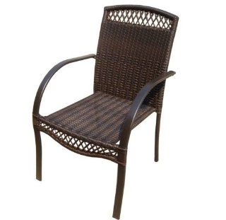 DC America SSR183 FC, Soho All Weather Wicker Chair, Heavy
