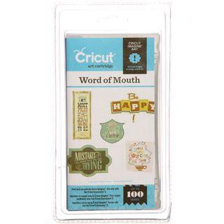 Cricut Imagine Word of Mouth Art Cartridge