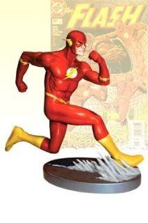 JLA (Flash #187) Cover To Cover Flash Statue Designed by