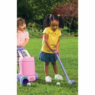 Little Tikes Pink/ Purple TotSports™ Easy Hit™ Golf Set