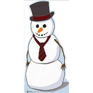 Christmas Snowman Life Size Standup Poster