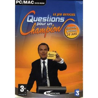 QUESTION POUR UN CHAMPION / JEU PC/MAC DVD ROM   Achat / Vente PC
