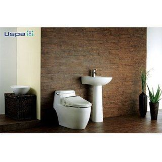 Bio Bidet Uspa 6800 Elongated Electric Bidet Toilet Seat with Remote